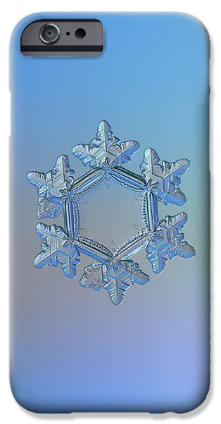 Snowflake Photo - Sunflower IPhone 6 Case