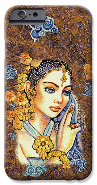 IPhone 6 Case featuring the painting Amari by Eva Campbell