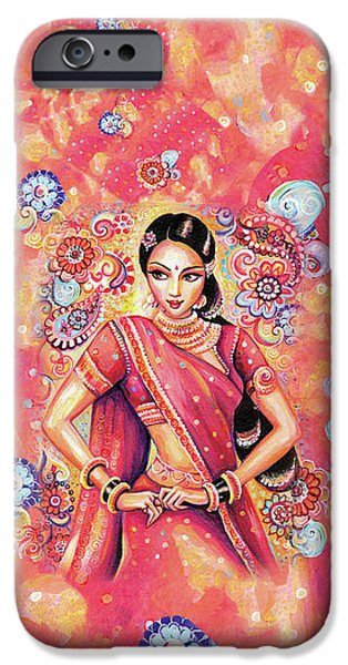 IPhone 6 Case featuring the painting Devika Dance by Eva Campbell