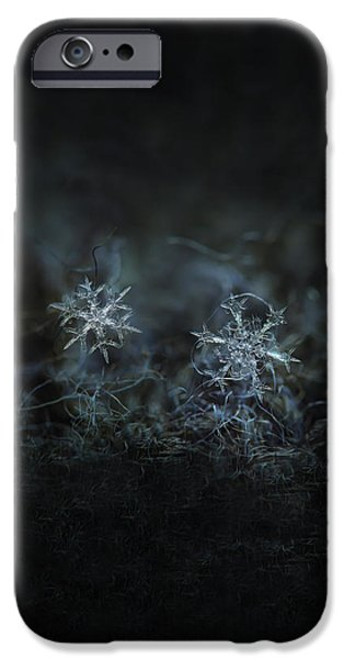 Snowflake Photo - When Winters Meets - 2 IPhone 6 Case