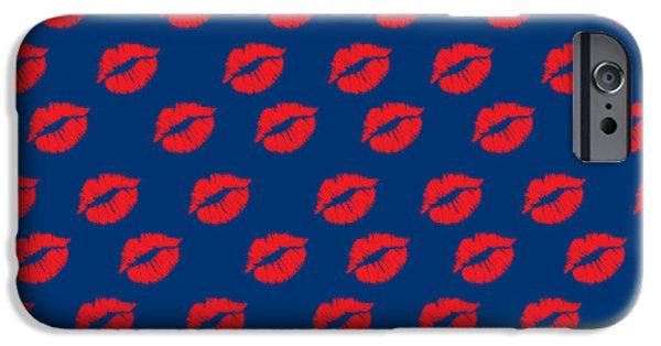 Dissing iPhone 6 Case - Lips by Mark Ashkenazi