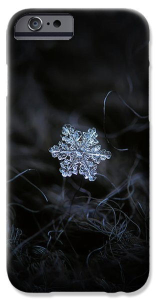 Real Snowflake - 2017-12-07 1 IPhone 6 Case