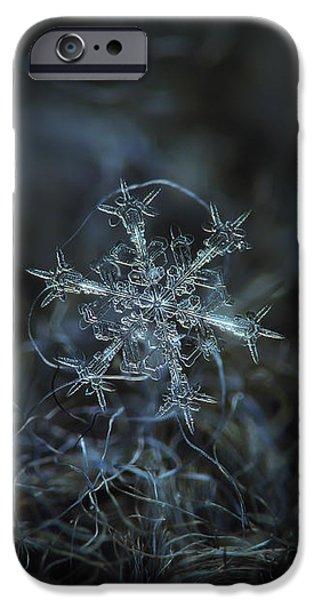 Snowflake Photo - Starlight IPhone 6 Case