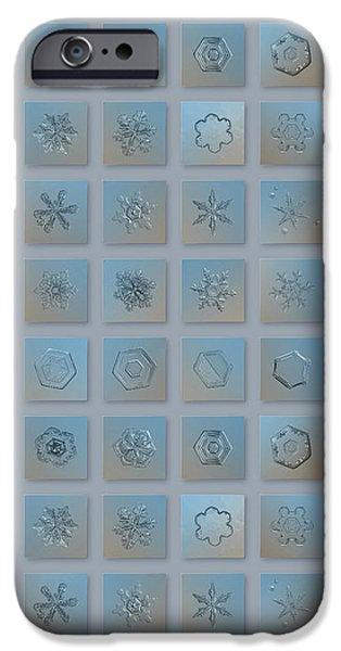 Snowflake Collage - Season 2013 Bright Crystals IPhone 6 Case