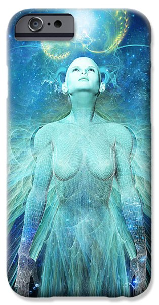 Creativity iPhone Cases - Ascension iPhone Case by John Edwards
