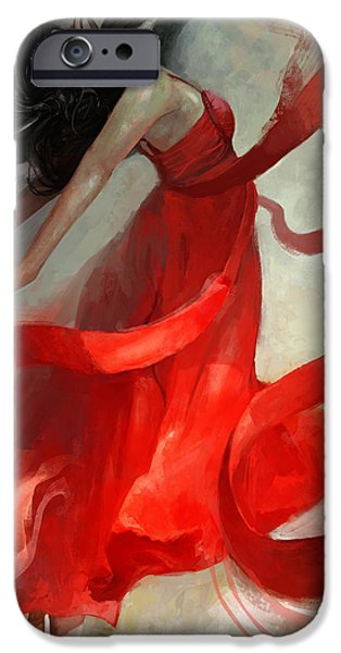 Red iPhone 6 Case - Ascension by Steve Goad