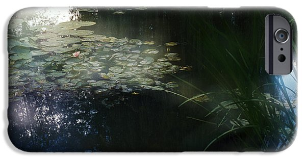 IPhone 6 Case featuring the photograph At Claude Monet's Water Garden 3 by Dubi Roman
