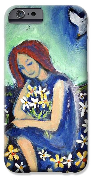IPhone 6 Case featuring the painting At Peace by Winsome Gunning