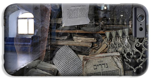 IPhone 6 Case featuring the photograph At The Old Tample Of Safed  by Dubi Roman