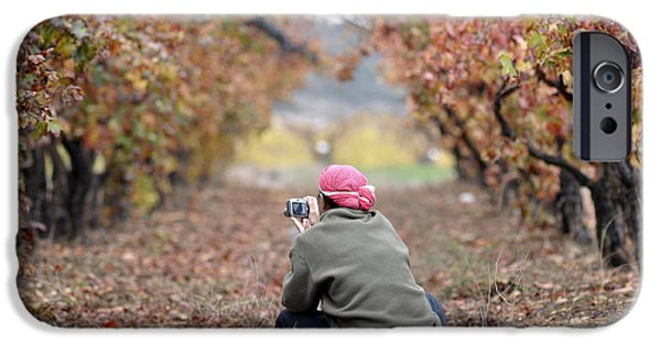 IPhone 6 Case featuring the photograph Autumn At Lachish Vineyards 1 by Dubi Roman