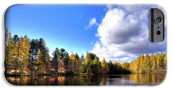 IPhone 6 Case featuring the photograph Autumn Calm At Woodcraft Camp by David Patterson