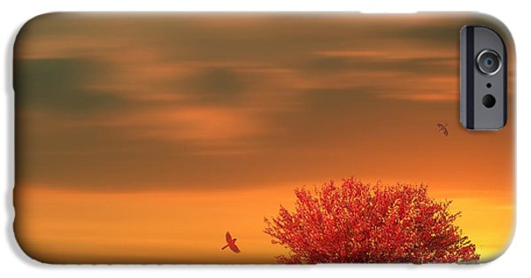 Fall Season iPhone Cases - Autumn iPhone Case by Lourry Legarde