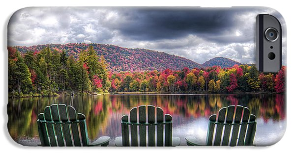 IPhone 6 Case featuring the photograph Autumn On West Lake by David Patterson