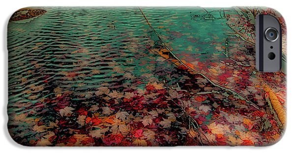 IPhone 6 Case featuring the photograph Autumn Submerged by David Patterson