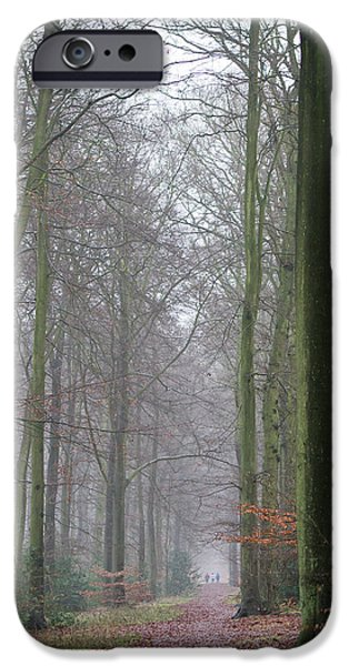 Autumn Woodland Avenue IPhone 6 Case by Gary Eason