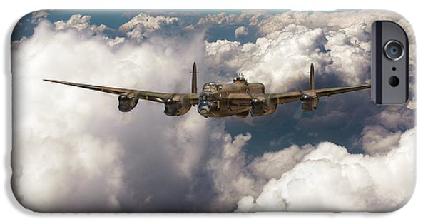 IPhone 6 Case featuring the photograph Avro Lancaster Above Clouds by Gary Eason
