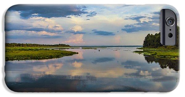 Backwater Sunset IPhone 6 Case by Anthony Baatz