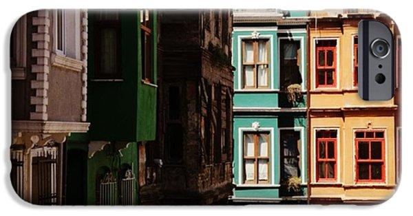 House iPhone 6 Case - #balat #istanbul #eskibinalar #renkli by Ozan Goren