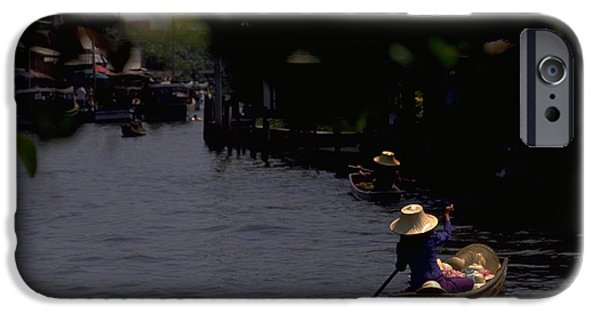Bangkok Floating Market IPhone 6 Case by Travel Pics
