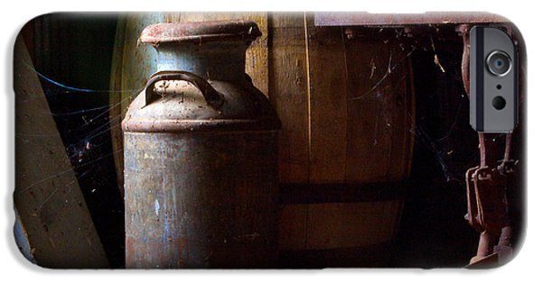 Tankard iPhone Cases - Barn Art iPhone Case by Jim Finch