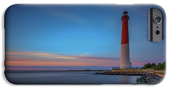 Jersey Shore iPhone Cases - Barnegat Inlet iPhone Case by Rick Berk