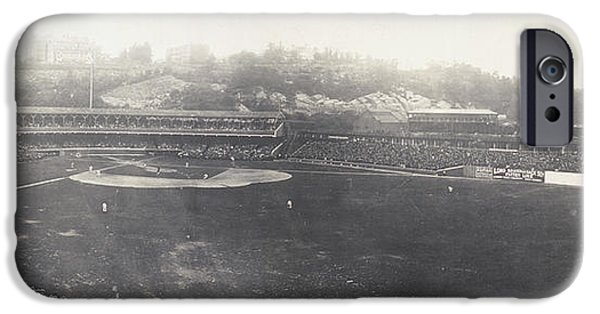 1904 iPhone Cases - Baseball Game, 1904 iPhone Case by Granger