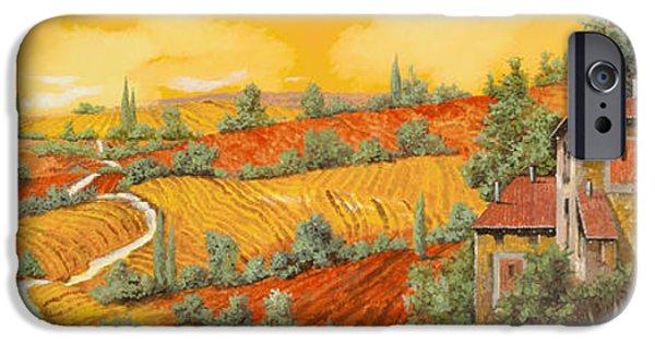 Village iPhone 6 Case - Bassa Toscana by Guido Borelli