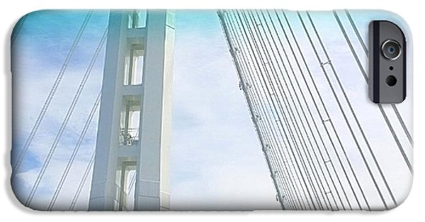 Sky iPhone 6 Case - Bay #bridge Section. Love The Aqua Tint by Shari Warren