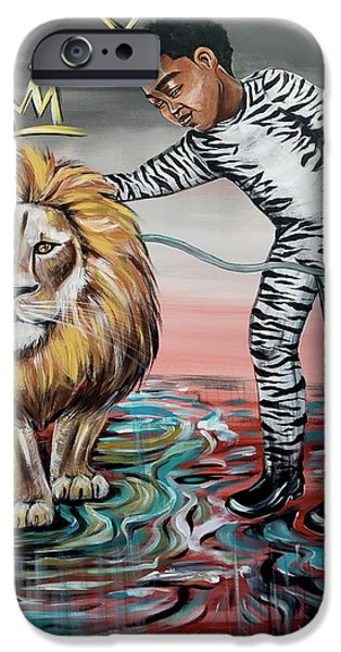 iPhone 6 Case - Be Courageous My Son by Artist RiA