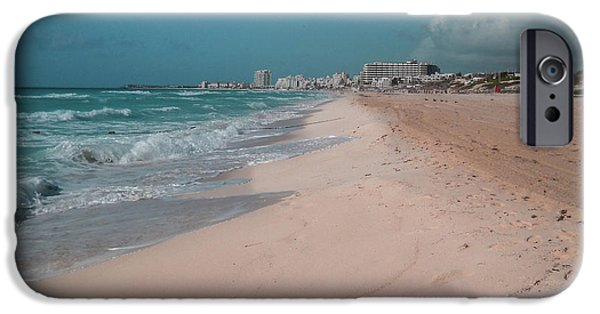 iPhone 6 Case - Beautiful Beach In Cancun, Mexico by Nicolas Gabriel Gonzalez
