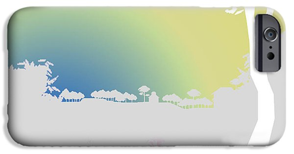 Winter Scene iPhone Cases - Before Dawn iPhone Case by Anil Nene