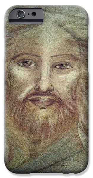 Son Of God Pastels iPhone Cases - Beloved Jesus iPhone Case by Jennifer Kamadon