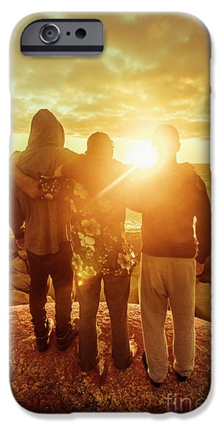 IPhone 6 Case featuring the photograph Best Friends Greeting The Sun by Jorgo Photography - Wall Art Gallery