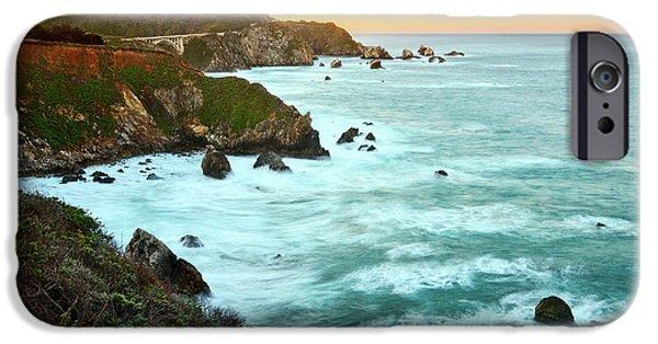 Pacific Ocean iPhone 6 Case - Big Sur Sunrise by Jamie Pham