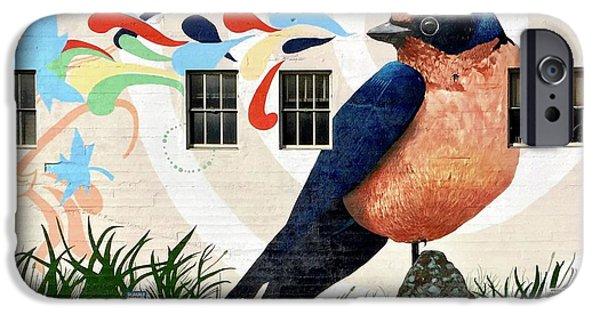 iPhone 6 Case - Bird Mural by Julie Gebhardt