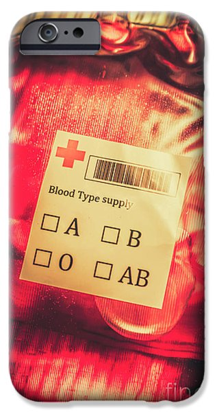 Donation iPhone 6 Case - Blood Donation Bag by Jorgo Photography - Wall Art Gallery