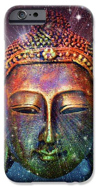 Buddhism iPhone 6 Case - Blue Buddha by Mark Ashkenazi