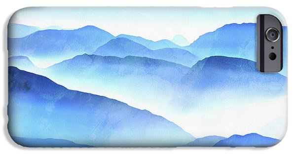 iPhone 6 Case - Blue Ridge Mountains by Edward Fielding