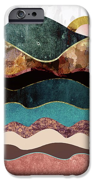 Landscapes iPhone 6 Case - Blush Moon by Katherine Smit