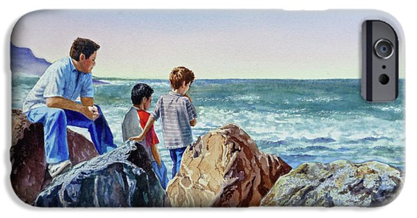 Boys And The Ocean IPhone 6 Case
