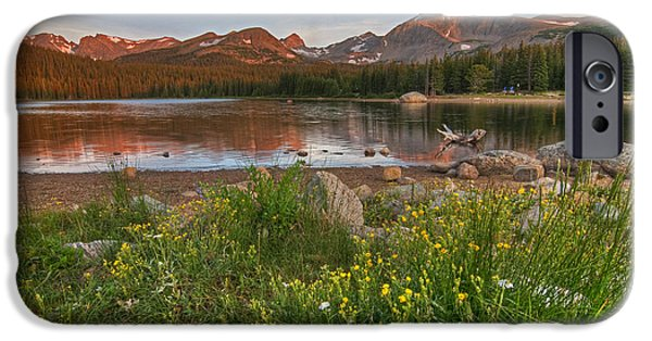 IPhone 6 Case featuring the photograph Brainard Lake by Gary Lengyel