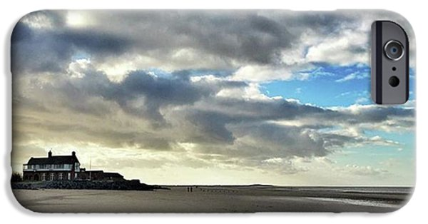 iPhone 6 Case - Brancaster Beach This Afternoon 9 Feb by John Edwards