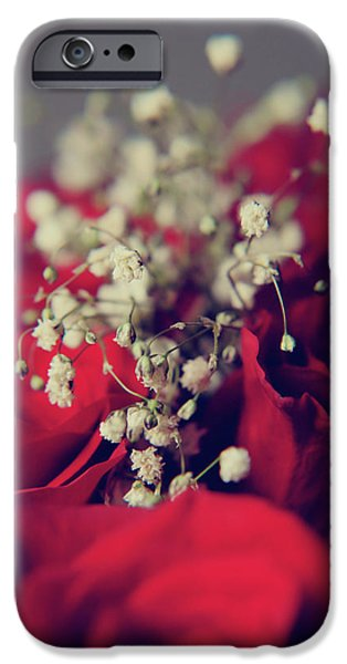 Red Rose iPhone 6 Case - Breath by Laurie Search