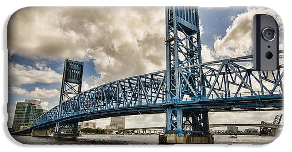 Bridge Of Blues IPhone 6 Case by Anthony Baatz
