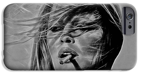 Brigitte Bardot Collection IPhone 6 Case by Marvin Blaine