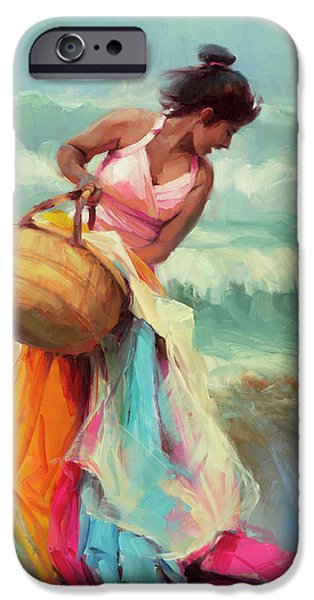 Pacific Ocean iPhone 6 Case - Brimming Over by Steve Henderson