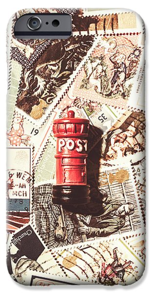 IPhone 6 Case featuring the photograph British Post Box by Jorgo Photography - Wall Art Gallery