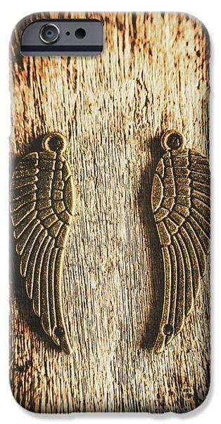 Bronze Angel Wings IPhone 6 Case