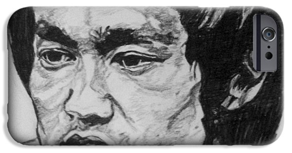 Bruce Lee IPhone 6 Case by Rachel Natalie Rawlins