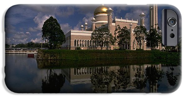 Brunei Mosque IPhone 6 Case by Travel Pics